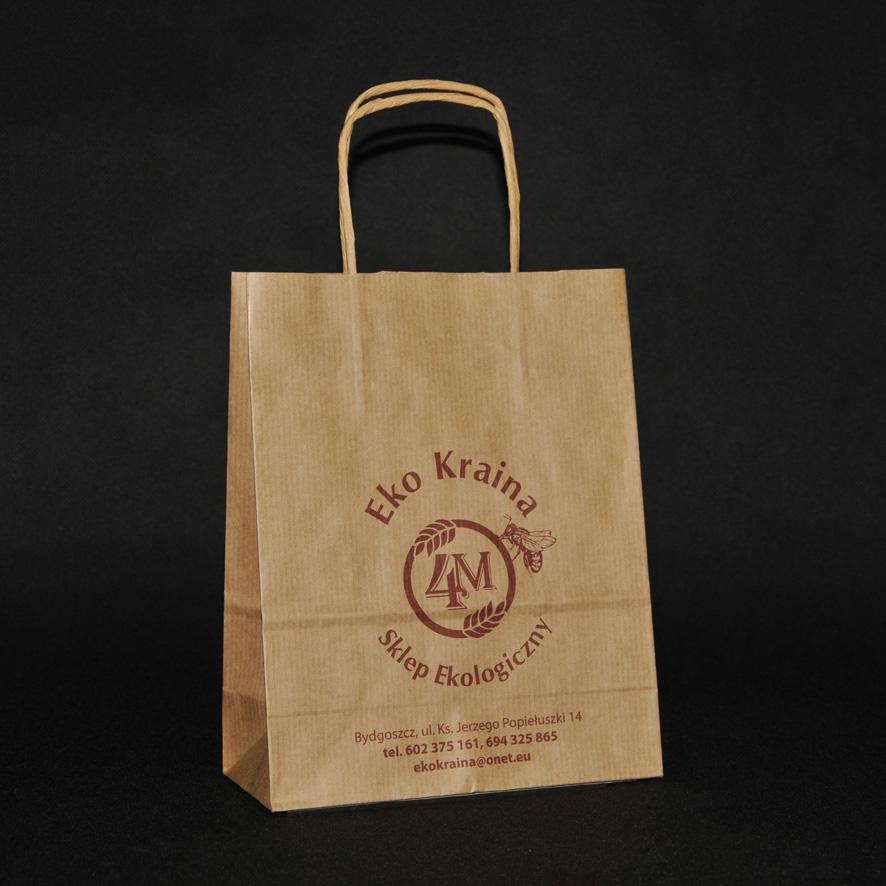 torba papierowa eko kraina