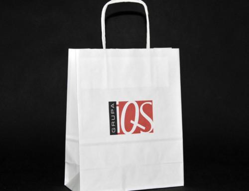 IQS troby papierowe z nadrukiem 2 kolory